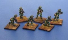 SF 1520 NVL (New Vistula Legion) Troopers with Assault Weapons x6