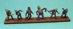 SF 1526 Zombies, pack #2 x6