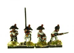 SP101 Spanish Infantry Bicorne, advancing