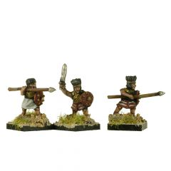 SPP4 Sea People Warband with Headdress