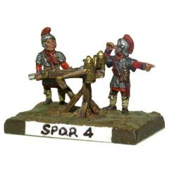 SPQR4 Middle to Late Imperial Roman Bolt Shooter and Crew