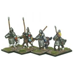 SRM1b Sarmatian Cataphracts, unarmoured / half armoured horses