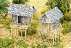 TMB45 Montagnard Huts on Stilts