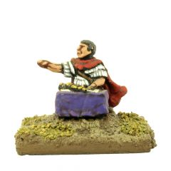VIG10 Roman General, seated at a table