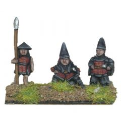 VIG9 Samurai Commander with attendants