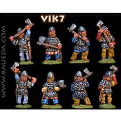 VIK7 Viking Huscarls with two-handed Axes