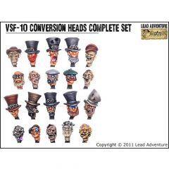 VSF-10 Conversion Heads, full set