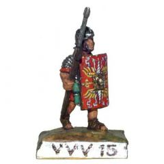 VVV15 Legionary in Lorica Segmentata with Pilum