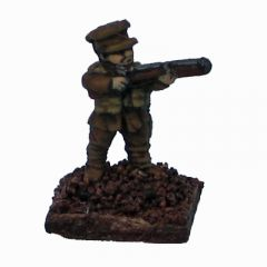 W1B2 British Expeditionary Forces, firing