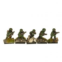 W2S2 Soviet Infantry with SMGs