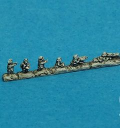 WHU 609 Infantry Weapons and Officer Strips x15